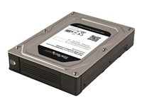 StarTech.com Dual-Bay 2.5 to 3.5in Adapter Enclosure with SATA III and RAID Hard drive array