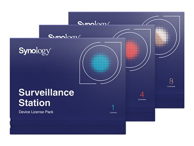 Synology Surveillance Device License Pack - license - 8 cameras
