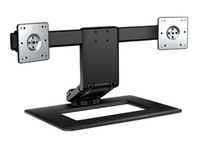 HP TDSourcing Adjustable Dual Display Stand - stand