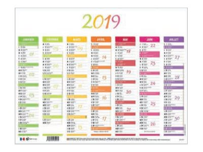 Calendriers & Planning Front