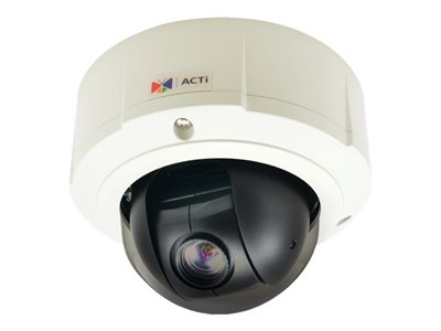 ACTi B910 Network surveillance camera PTZ outdoor vandal / weatherproof