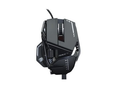 Mad Catz R.A.T.8+ Mouse optical 11 buttons wired USB black