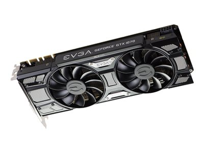 EVGA GeForce GTX 1070 SC GAMING ACX 3 0 Black Edition - Black Edition -  graphics card - GF GTX 1070 - 8 GB