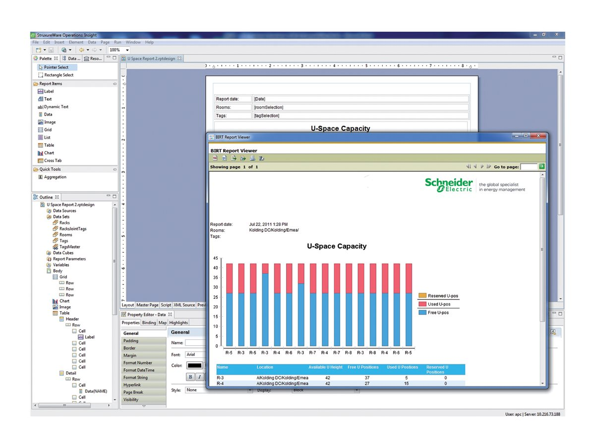 StruxureWare Operations Insight for Data Centers - license - 1 license