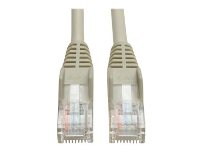 25-ft; Gray Snagless 25ft N001-025-GY CAT-5//5E Patch Cable 1