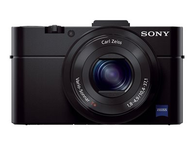 Sony Cyber-shot DSC-RX100 II Digital camera compact 20.2 MP 1080p 3.6x optical zoom