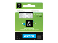 Picture of DYMO D1 - label tape - 1 roll(s) - Roll (1.2 cm x 7 m) (S0720600)