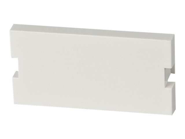 LINDY Snap in Blanking Plate - Faceplate blank cover - white (pack of 2)