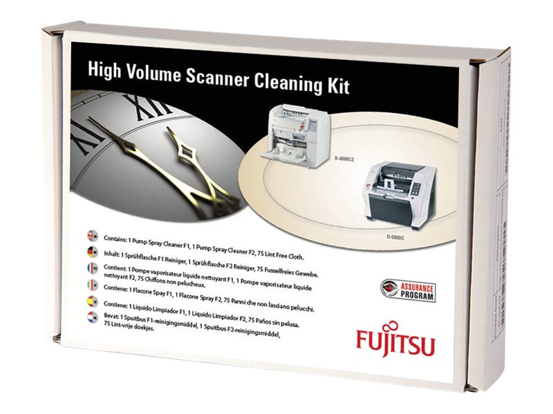 Fujitsu High Volume Scanner Cleaning Kit - Scanner-Reinigungs-Kit - für fi-4860C, 4860C2, 4990C, 5900C, 5950; M 4099D