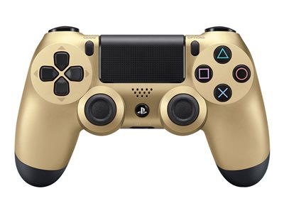 Sony DualShock 4 Gamepad wireless Bluetooth gold for Sony PlayStat