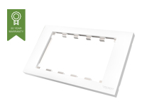 Picture of VISION TechConnect 3 2-Gang UK Surround - faceplate (TC3 SURR2G)