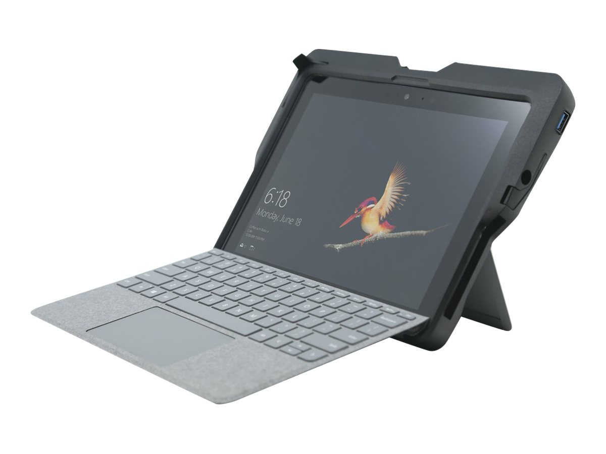 Kensington BlackBelt Rugged Case with Integrated CAC Reader - protective case for tablet