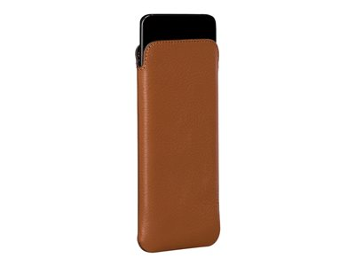 Sena UltraSlim Pouch for cell phone leather tan for Samsung Galaxy S9