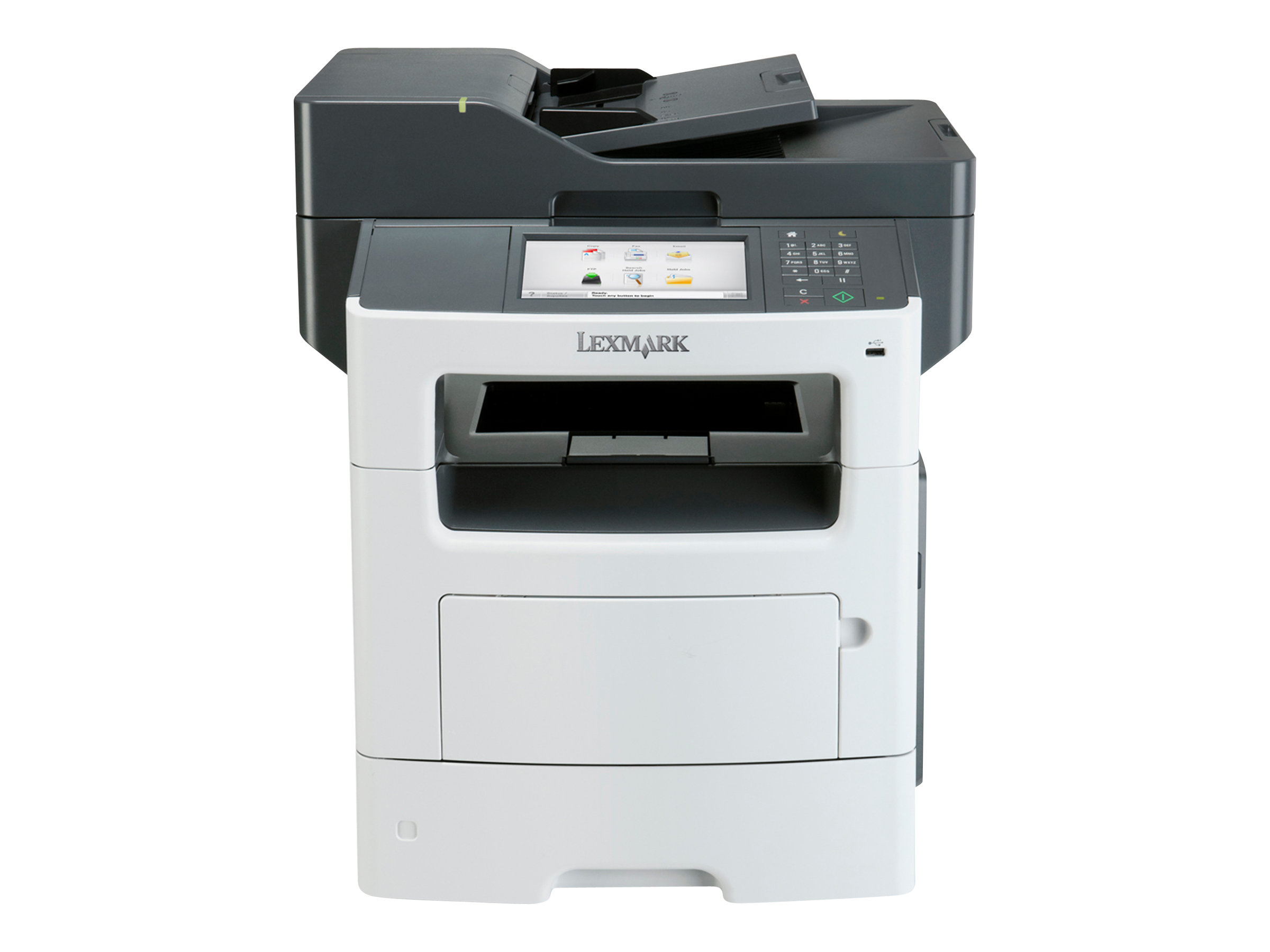 Lexmark MX611de - Multifunktionsdrucker - s/w - Laser - Legal (216 x 356 mm) (Original) - Legal (Medien)