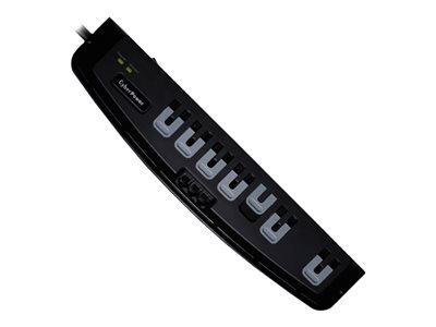 CyberPower Professional Series CSP706T Surge protector AC 125 V output c