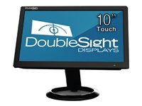 DoubleSight DS-10UT LCD monitor 10.1INCH (10.1INCH viewable) touchscreen 1024 x 600 200 cd/m²