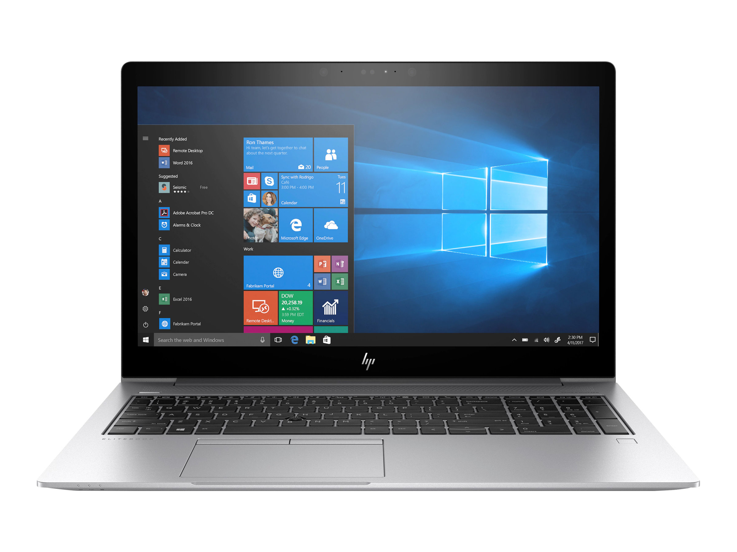 "HP EliteBook 755 G5 39,6cm (15,6"") AMD R7-2700U 8G"