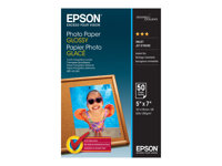 Epson - Brillant - 127 x 178 mm - 200 g/m² - 50 feuille(s) papier photo - pour Expression Home HD XP-15000; Expression Premium XP-540, 6000, 6005, 900