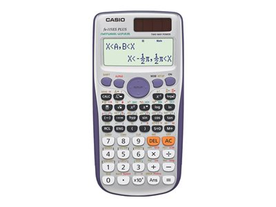 Casio FX-115ESPLUS Scientific calculator 10 digits + 2 exponents solar p