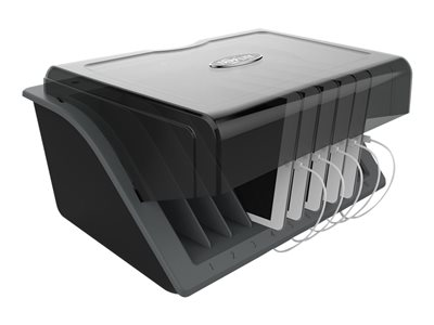 Tripp Lite 10-Device Desktop USB Charging Station for Tablets, iPads, Androids & E-Readers