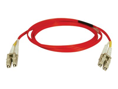 Tripp Lite 5M Duplex Multimode 62.5/125 Fiber Optic Patch Cable Red LC/LC 16' 16ft 5 Meter - patch cable - 5 m - red