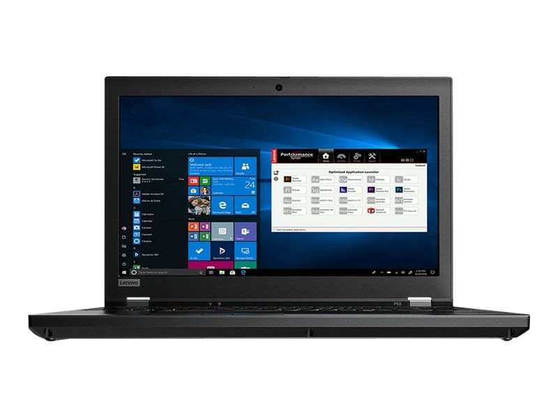 "Lenovo ThinkPad P53 - 15.6"" - Core i7 9850H - 32 GB RAM - 512 GB SSD - US"