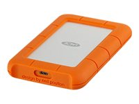 LaCie Rugged USB-C - Disque dur - 2 To - externe (portable) - USB 3.1 Gen 1 (USB-C connecteur)