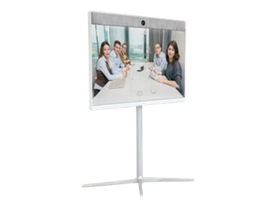 Cisco Spark Room 55 - GPL - Kit für Videokonferenzen - mit Cisco Floor Stand Kit (CS-ROOM55-FSK), 2 x Cisco TelePresence Table Microphone 20 (CTS-MIC-TABL20+)