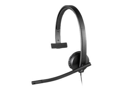 Logitech USB Headset H570e - Headset - On-Ear - verkabelt