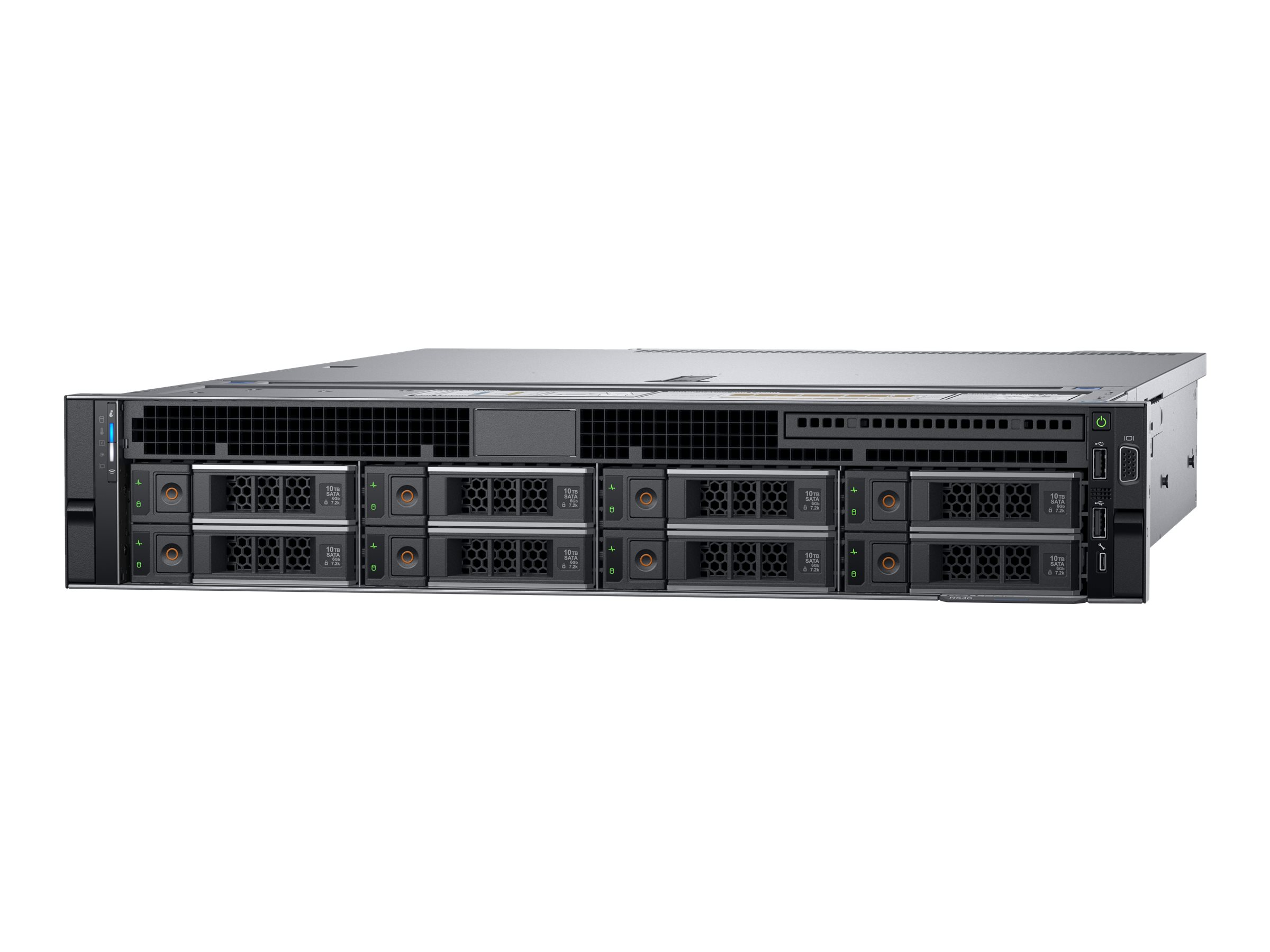 Dell EMC PowerEdge R540 - Server - Rack-Montage - 2U - zweiweg - 1 x Xeon Silver 4110 / 2.1 GHz