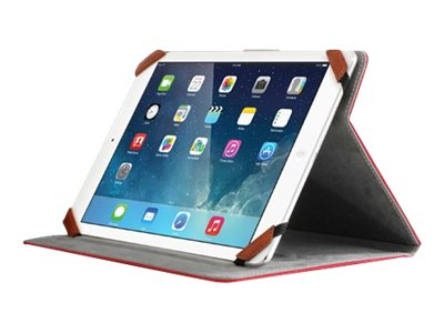 Aluratek Universal Folio Travel Flip cover for tablet red 8INCH