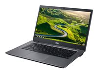 "Acer Chromebook 14 for Work CP5-471-C67N - Celeron 3855U / 1.6 GHz - Chrome OS - 4 Go RAM - 32 Go eMMC - 14"" 1366 x 768 (HD) - HD Graphics 510 - Wi-Fi, Bluetooth - noir, argenté(e) - kbd : français"