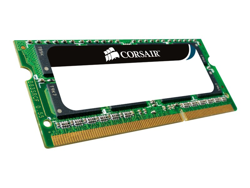 Corsair Value Select - DDR2 - 1 GB - SO DIMM 200-PIN - 533 MHz / PC2-4200 - ungepuffert