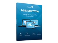 F-Secure Total and VPN - Subscription licence (2 years)