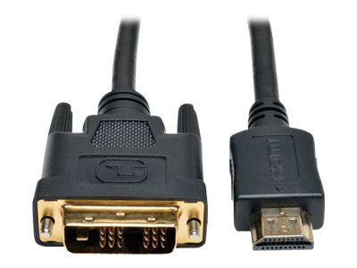 Tripp Lite 12ft HDMI to DVI-D Digital Monitor Adapter Video Converter Cable M/M 12' - video cable - HDMI / DVI - 3.66 m