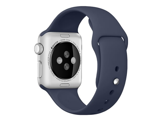 Apple 38mm Sport Band - Bracelet de montre - bleu nuit - pour Watch (38 mm)