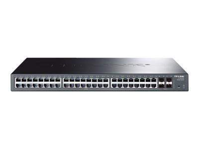 TP-Link JetStream T1600G-52PS - commutateur - 48 ports - intelligent - Montable sur rack