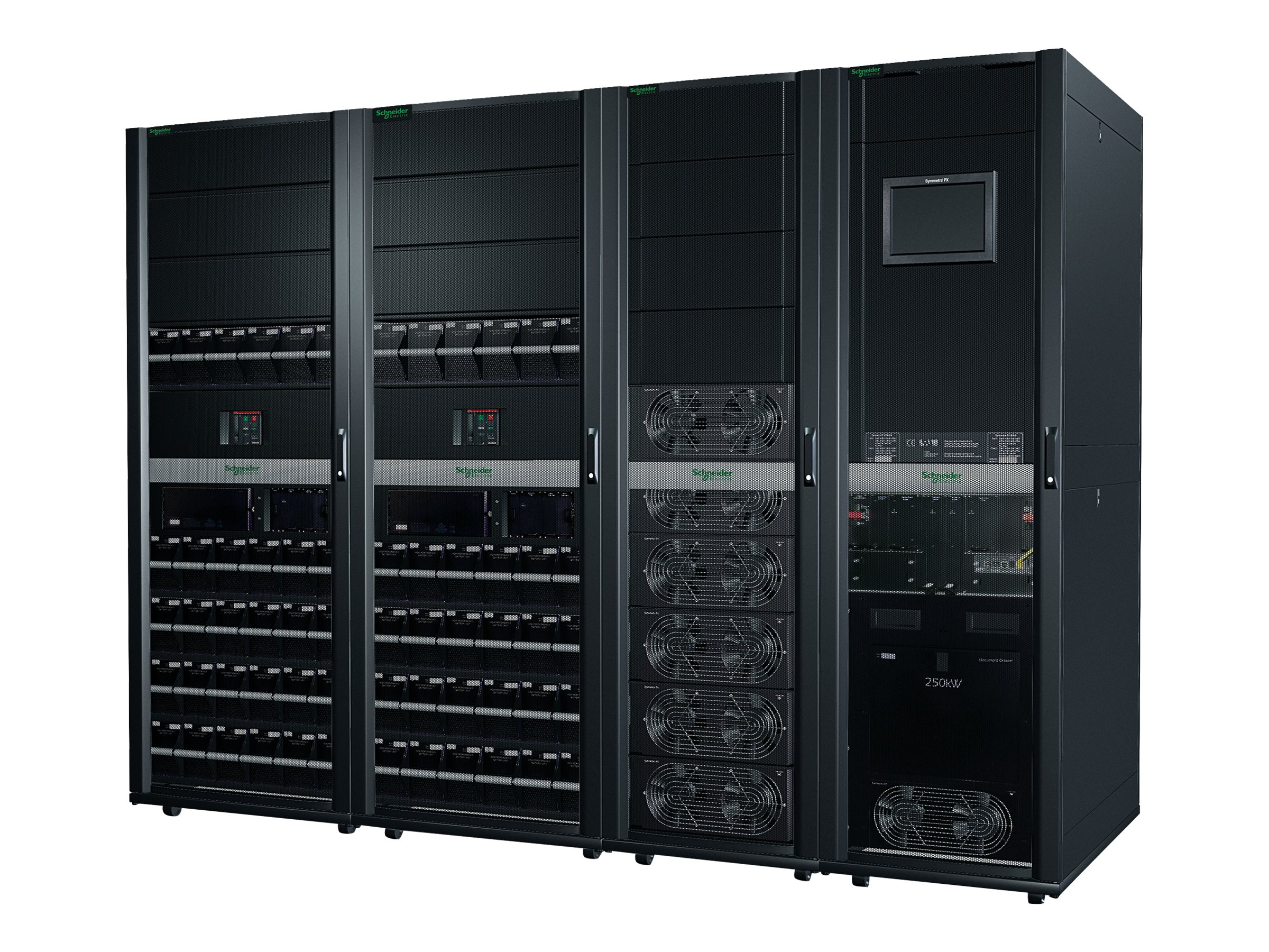 APC Symmetra PX 150kW Scalable to 250kW without Maintenance Bypass or Distribution-Parallel Capable - power array - 150…