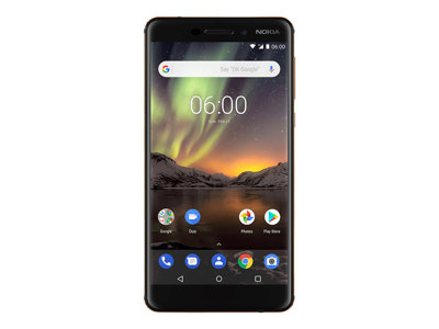 Nokia 6.1 5.5' 32GB 4G Sort
