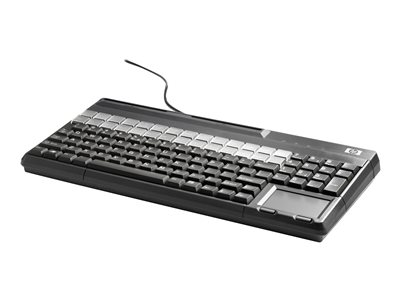 HP POS Keyboard with Magnetic Stripe Reader - keyboard - QWERTY - US - Smart Buy