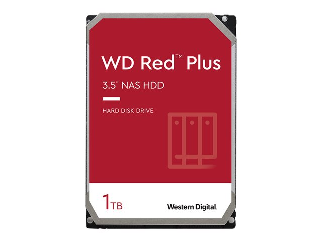 WD Red Plus NAS Hard Drive WD10EFRX