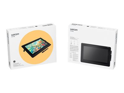 Wacom Cintiq 22 - Digitizer w/ LCD display - right and left-handed - 47.6 x 26.8 cm - electromagnetic - wired - HDMI, USB 2.0