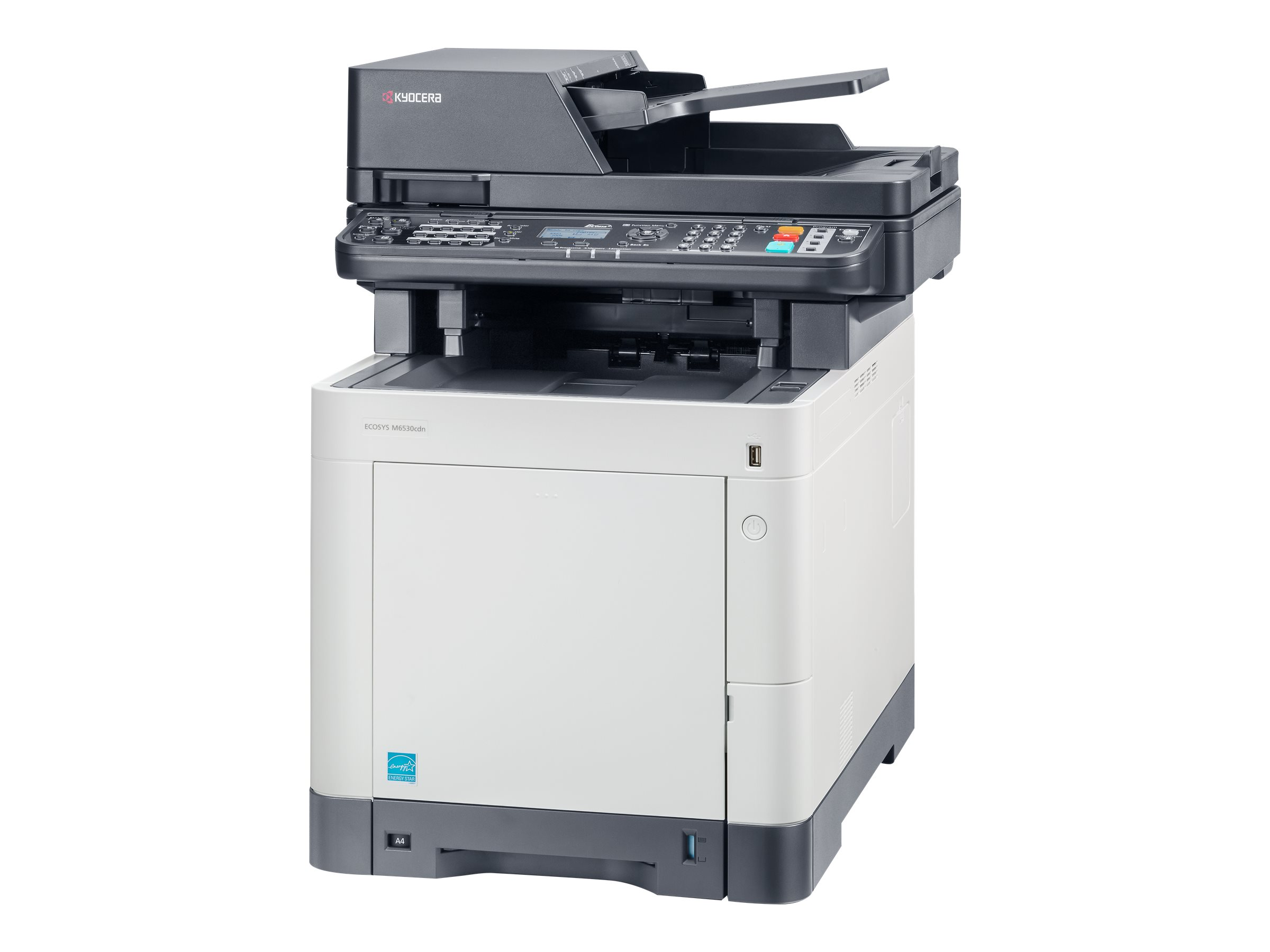 Kyocera ECOSYS M6530cdn - Multifunktionsdrucker - Farbe - Laser - Legal (216 x 356 mm)/A4 (210 x 297 mm) (Original) - A4/Legal (Medien)