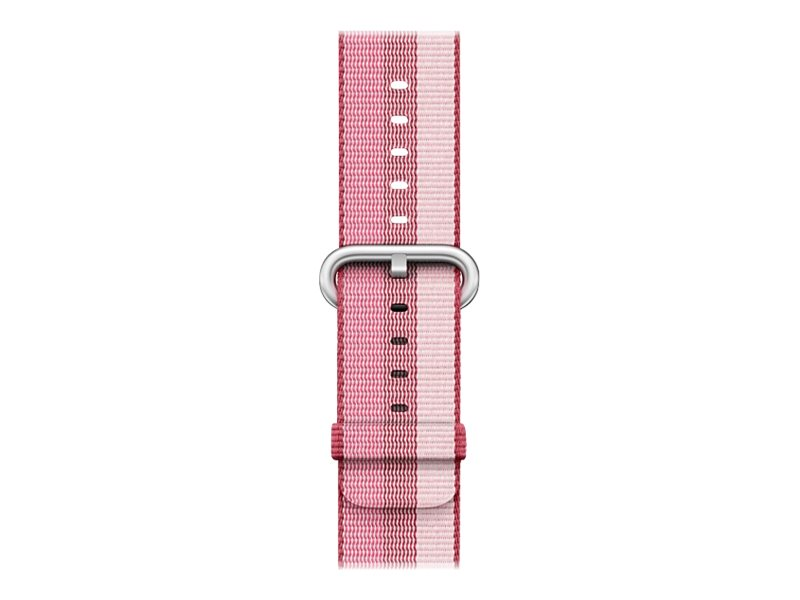Apple 42mm Woven Nylon Band - Uhrarmband - 145-215 mm - Berry - für Watch (42 mm)