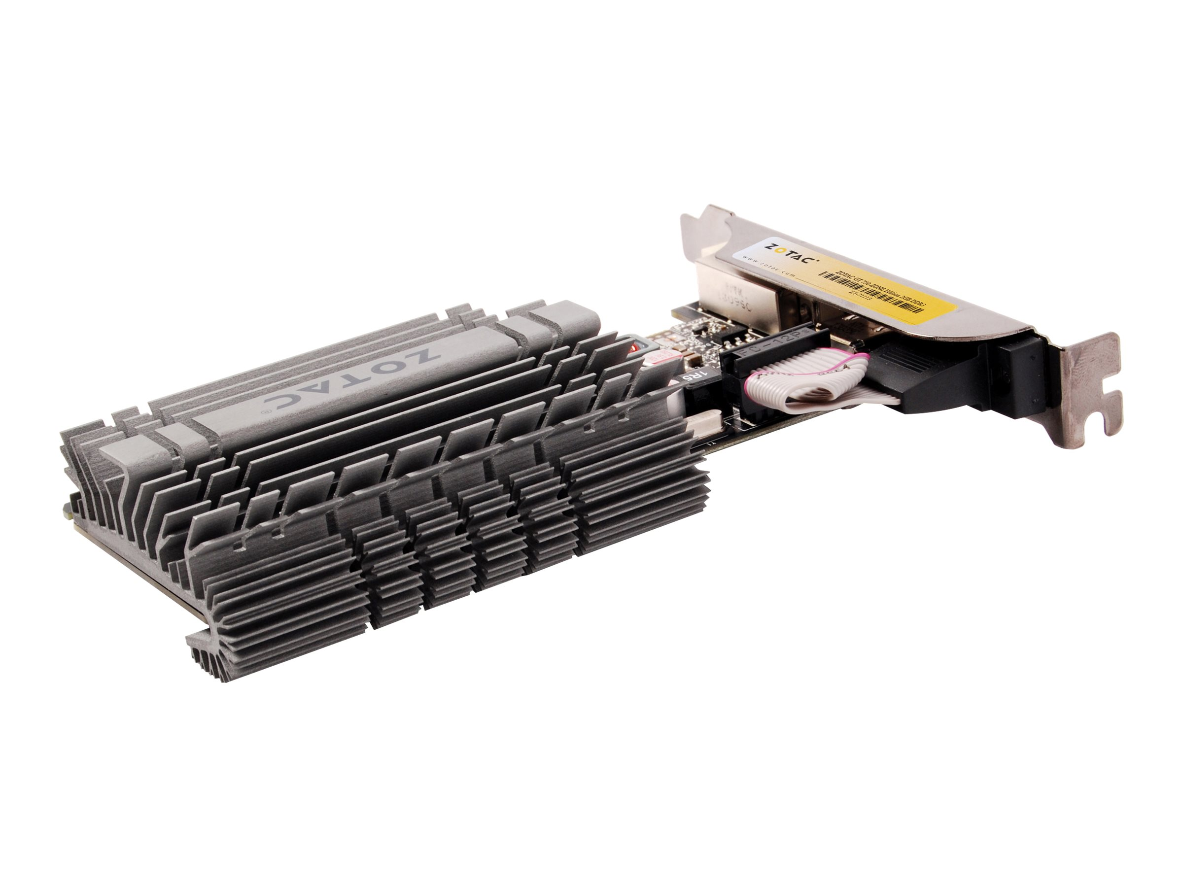 ZOTAC GeForce GT 730 - ZONE Edition - Grafikkarten - GF GT 730 - 2 GB DDR3 - PCIe 2.0 x16 Low-Profile