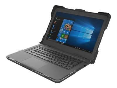 Gumdrop DropTech Series Notebook top and rear cover black for Dell Lat