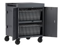Bretford Cube TVC32PAC-CK Cart for 32 netbooks/tablets charcoal