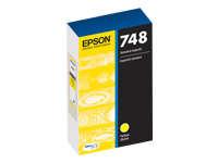 Epson 748 - Yellow - original - ink cartridge - for WorkForce Pro WF-6090, 6530, 6590, 8090, 8090 D3TWC, 8590, 8590 D3TWFC, R8590