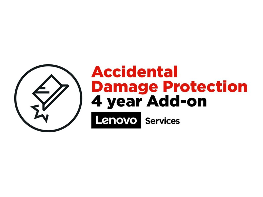 Lenovo Accidental Damage Protection - accidental damage coverage - 4 years