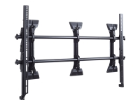 ViewSonic WMK-070 - Wall mount for interactive flat panel / LCD display - black - screen size: 55